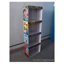 Cardboard Sidekick Display for Toys