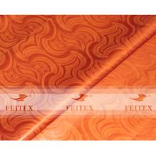 El damasco africano hecho a mano del damasco del brocado de Guinea de la tela de la ropa de FEITEX brilla 5 yardas / bolso