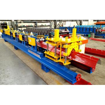 Automatic Ridge Cap Roll Forming Machine