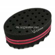 Hair Twist Black Ice Sponge Curl Bürsten