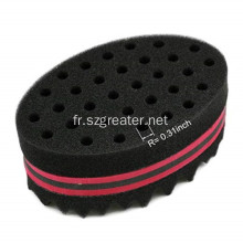 Hair Twist Black Ice Sponge Curl Brosses