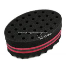 Torção de cabelo Black Ice Sponge Curl Brushes