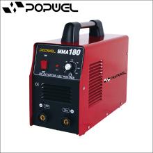 Soporte del electrodo 2m Protección de la cubierta Grado IP21S Mosfet Tecnología Popwed MMA180