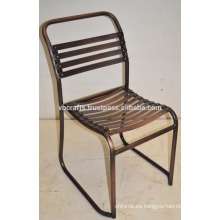 Industrial Vintage Metal Chair