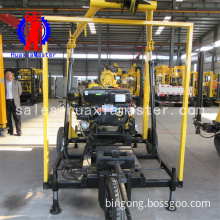 XYX-130 Wheeled type drilling rig for water well