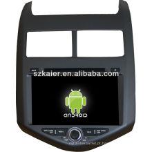 leitor de dvd do carro para o sistema Android Chevrolet AVEO