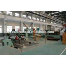 Línea de corte longitudinal de la bobina de acero china marca famosa