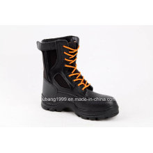 2015 New Dsign Promotional High Ankle Steel Toe Safety Shoes