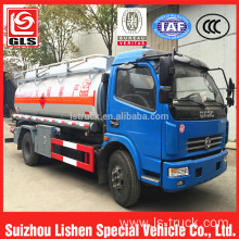 Diesel Engine 5000 liter fuel dispenser truck