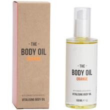 Vegan Skin Moisturizing Body Oil Orange with Hemp Seed Oil