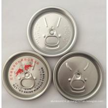 Bulgária 202 # Alumínio Ezo De Lata De Alumínio, 52mm Alimento Seco Fácil Fábrica De Tampa Aberta