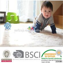 tapis décoratif oriental pour enfants en microfibre