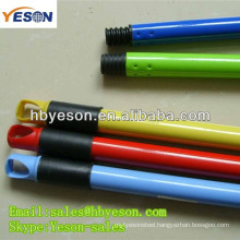 manufacturing company metal long handle dustpan/1.9cm*120cm*0.25mm metal handle