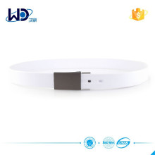 Latest Design 100% Silicone White Golf Belts