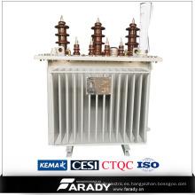 Venta caliente tres fase 800kva aceite tipo transformador yueqing