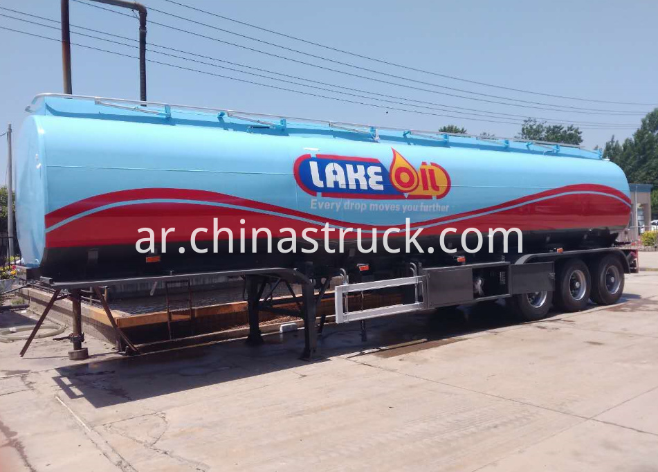 3 axle petrol tank semi-trailer for Tasania