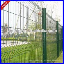 Triangle à bas prix à l'usine de 25 ans Clôture métallique, clôture en treillis soudé