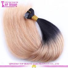 Atacado melhor qualidade 26 polegadas fita extensões de cabelo humano venda quente fita em extensão do cabelo humano