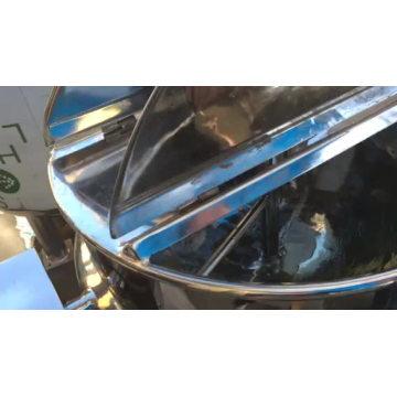 Vapor Industrial / Chaleira Elétrica Revestida com Agitador