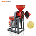 DAWN AGRO Household Pulverizer Moedor de Erva Fresca Milho Máquina De Moer com Motor A Gasolina