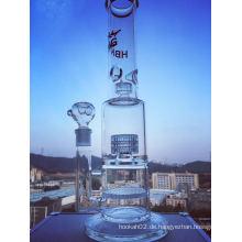 Neues Design Straight Recycler Glas Wasser Rauchen Rohr