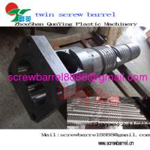Amut Plastic Extruder Maschine konische Twin Screw Barrel