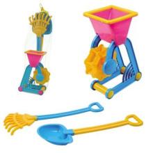 Летние игрушки пластик Песочный набор 3шт пляжные игрушки для детей (10214408)