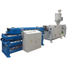 Plastic single wall corrugated pipe extrusion line