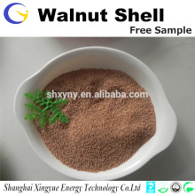 Fornecimento de fábrica de alta qualidade com tampo de noz granular de 1-2 mm para separação de água de óleo