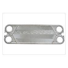 Gaxeta e placa de trocador de calor de titânio H17 APV