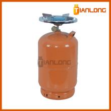 12Lts Spécifications Réservoir de gaz LPG personnalisable à vendre