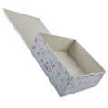 Venda quente Handmade Mulberry Hardcover Cometic Paper Boxes