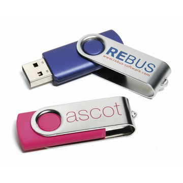 Twister USB Flash Drives economico con logo