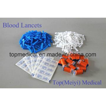 Blood Lancets Twist Lancets / Acier inoxydable