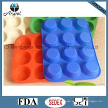 12-ти круговой круглый силиконовый инструмент для печенья