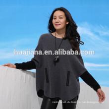 Mode-Design Frauen Kaschmir Umhang Pullover