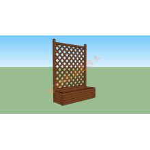WPC Guardrail Wood Plastic Composite Guardrail WPC Decking