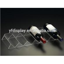transparent acrylic wine glass bottle holder lanyard