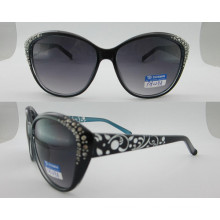 Colorful Fashion Plastic Sunglasses with Metal Hinge P25029