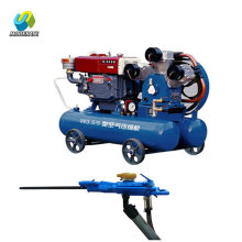 Three cylinder piston air compressor