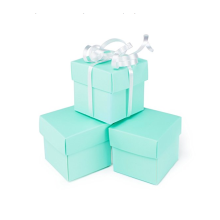 Small Square Cube Gift Boxes with Lid
