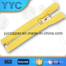 Closed End Corn Teeth Metal Zipper for Clothing with Customized
