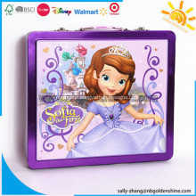 Deluxe Tin Case Stationery Set For School