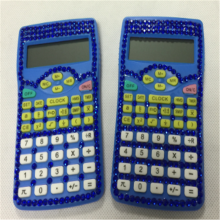 10 Digits Scientific Calculator with Diamonds Decoration