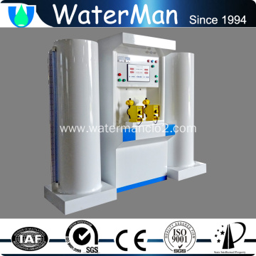 water decoloring agent for municipal wastewater treatment