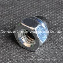 Hex Domed Cap Nuts Nylon inserir bloqueio