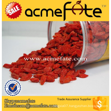 Acmefate top grade Ningxia Natural dried goji berry price