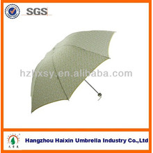 Pongee Fabric Brolly Hot 3 Foldable Unbrella