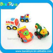 Cute 4 styles cartoon toy friction car toy