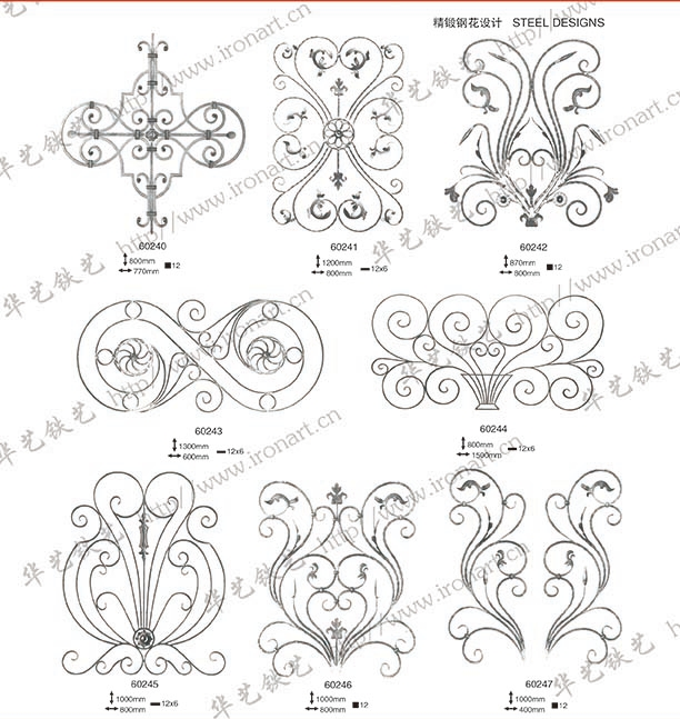 Forged Ornamental Parts